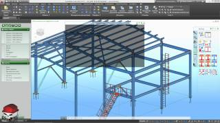 Advance Steel 2015.1 Урок 9 Подготовка модели 1