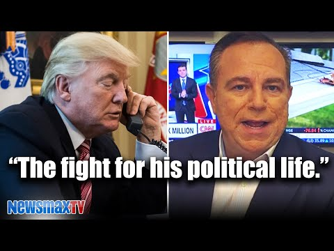 My phone call with Trump today   Newsmax CEO