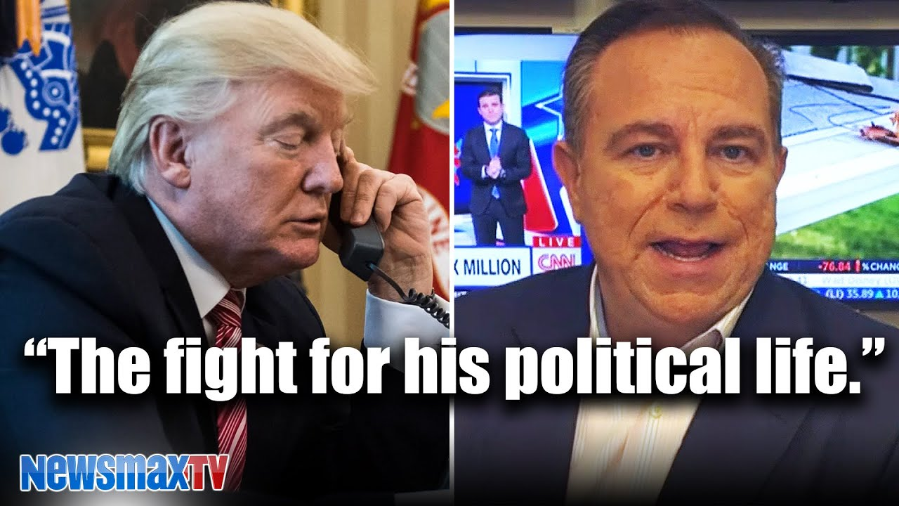 My phone call with Trump today | Newsmax CEO