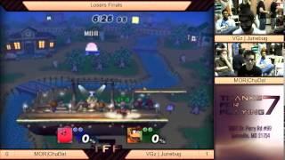 Tfp7 - Mor|chudat (kirby) Vs Vgz|junebug (diddy Kong) Pm Losers Finals