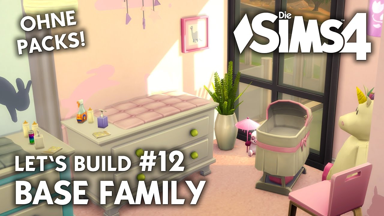 Die Sims 4 Haus Bauen Ohne Packs Base Family 12 Baby Zimmer