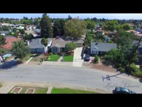 1350 RAMON DR. SUNNYVALE, CA by Douglas Thron drone real estate videos