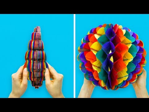 25 Adorable Paper Crafts Populyarnye Videoroliki