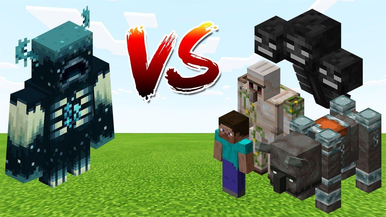 Download Warden vs Minecraft