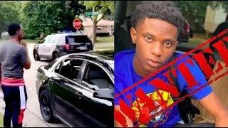 Florida Rapper Lil Dell 900 Wanted For Murder Footage Police Chase In Atlanta..DA PRODUCT DVD