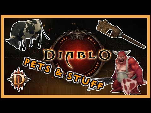 Diablo 3 - 20th Anniversary Event (full playthrough, pets, achievements, exploring)