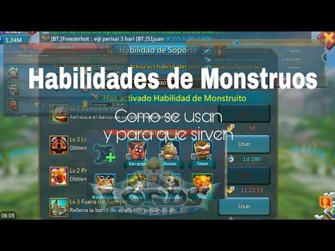 Habilidades De Monstruos||Lords Mobile||Como Se Usan Y Para Que Sirven||#Trucos Y Tips||Consejos||RF