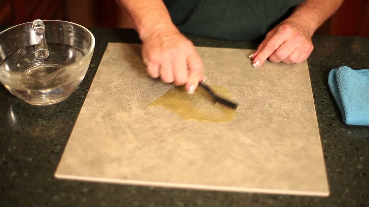 How to clean stains on ceramic tile pro cleaning tips youtube dailygadgetfo Image collections