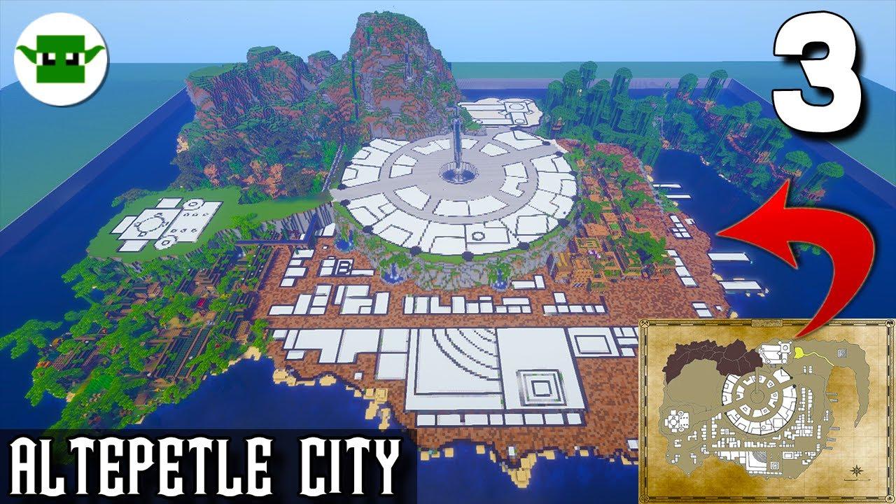 Minecraft Kingdoms Season 5 -Altepetl City [#3 - Jungle + Town]