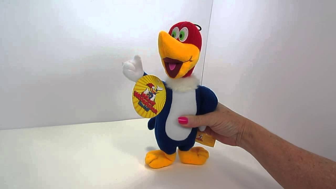Multipet Talking Woody Woodpecker dog toy - YouTube