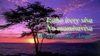 HAMAFISIKO ILAY DINA - Mialy RAKOTOMAMONJY - Instrumental