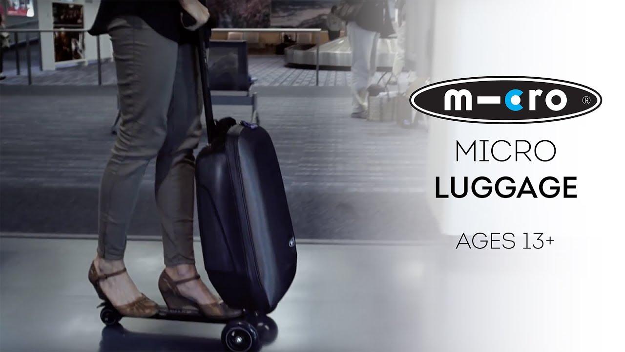 Mikro kofer i trotinet