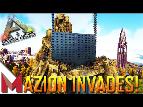 MAZION INVADES NA-TheCenter580! -=- ARK: SURVIVAL EVOLVED GA