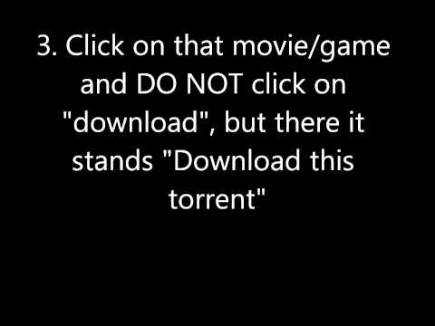 How to download movies/games from