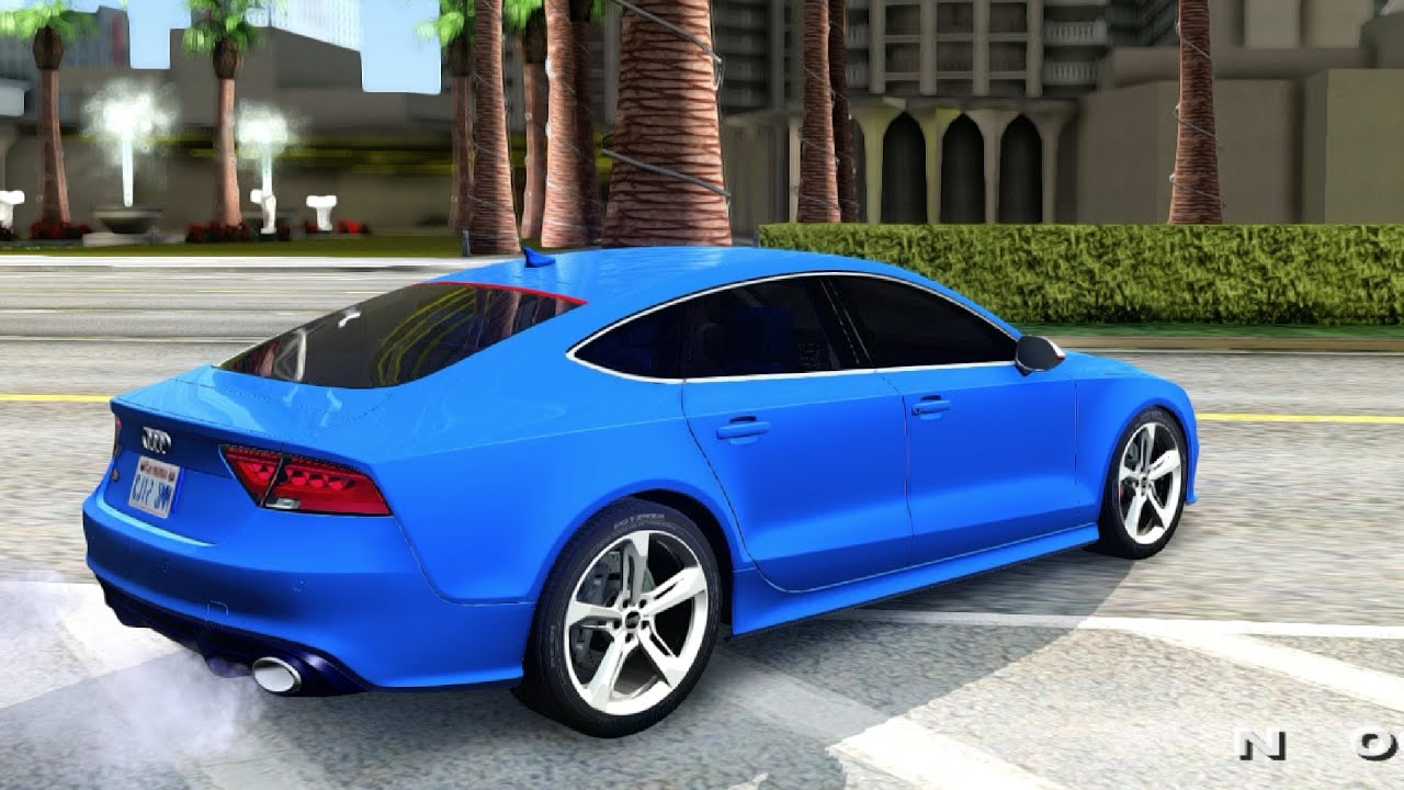 Audi Rs7 2014 Gta San Andreas Youtube