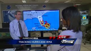 National Hurricane Center continues to urge vigilance to West Palm Beach ahead of Irma