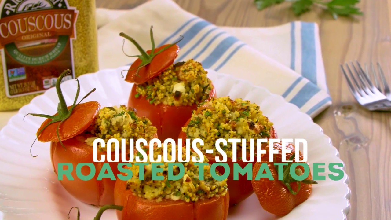 Couscous Stuffed Roasted Tomatoes by RiceSelect