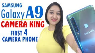 Samsung A9 - Unboxing & Overview in HINDI