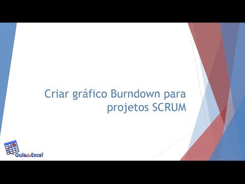 Gráfico Burndown Scrum Excel
