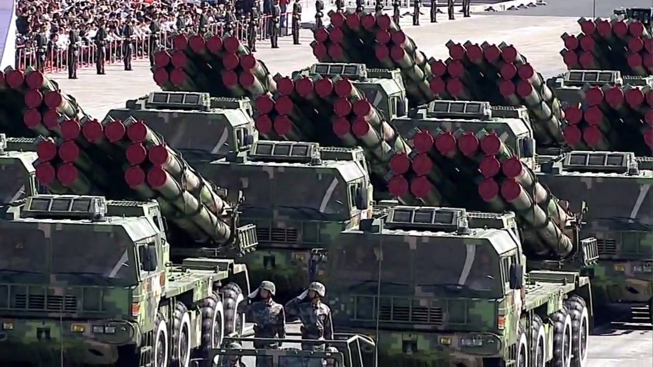 pla ground forces weapon 2009 china national day parade hd