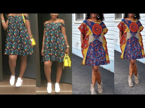 African Clothing, Women Clothing, African Dress, Loose Dress, Casual Dress, Ankara Dress