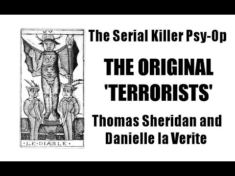The Serial Killer Psy-Op with Danielle la Verite - BETTER AUDIO