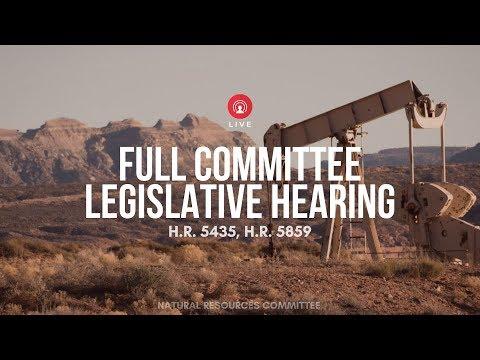Legislative hearing on H.R. 5435 & H.R. 5859 EventID=110542