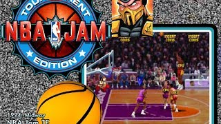 NBA Jam Tournament Edition (Arcade) - Game Play {Scorpion}