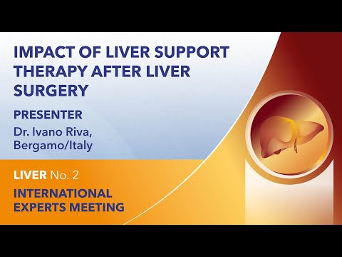 Impact of liver support therapy after liver surgery | Ivano Riva | Liver Webinar No. 2 | 2021
