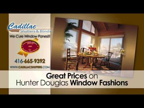 Cadillac Shutters and Blinds - Toronto's #1 Choice for Drapes and Curtains - GTA