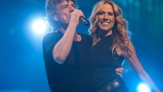 "Mick Jagger and Sheryl Crow ""Old Habits Die Hard"""