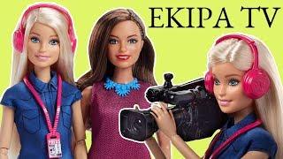Barbie • Reporterka - Kamerzysta • Ekipa TV • zestaw