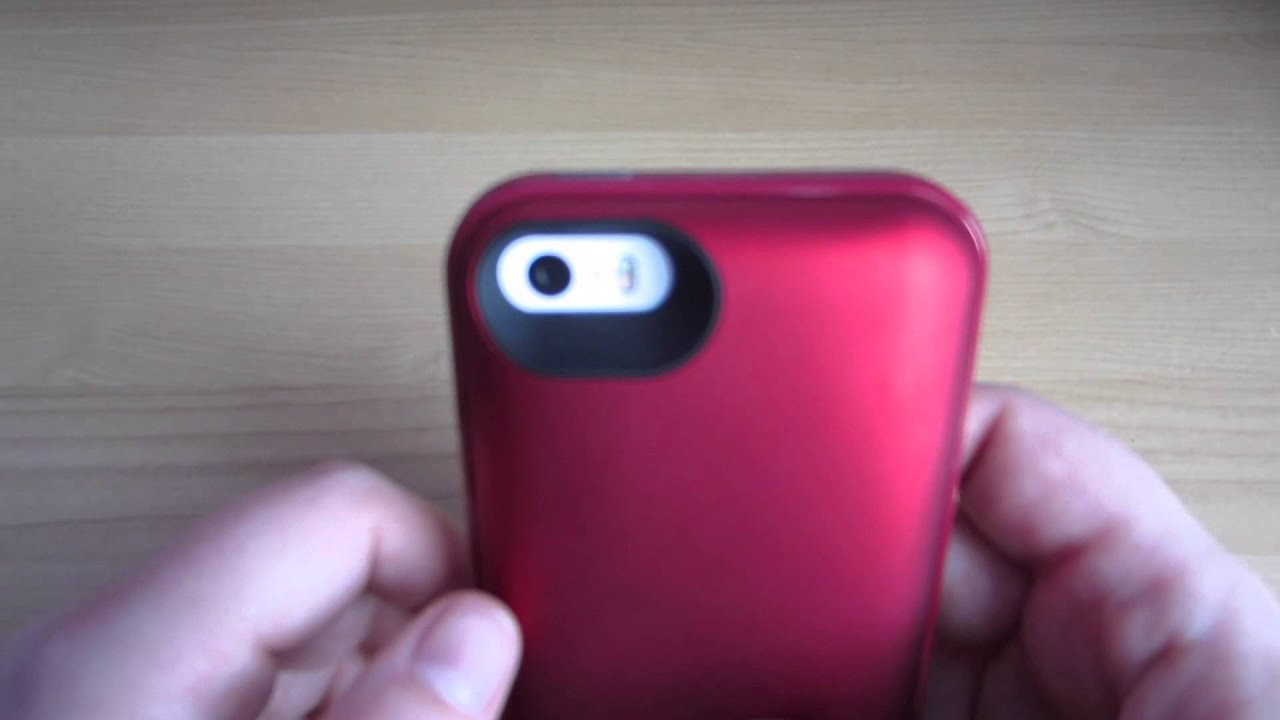 size 40 2cdbe e9ed9 [Review] Mophie Juice Pack Plus Product Red edition for iPhone 5/5s