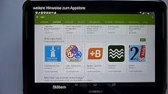Google Play Store, Apps installieren, deinstallieren, aktualisieren