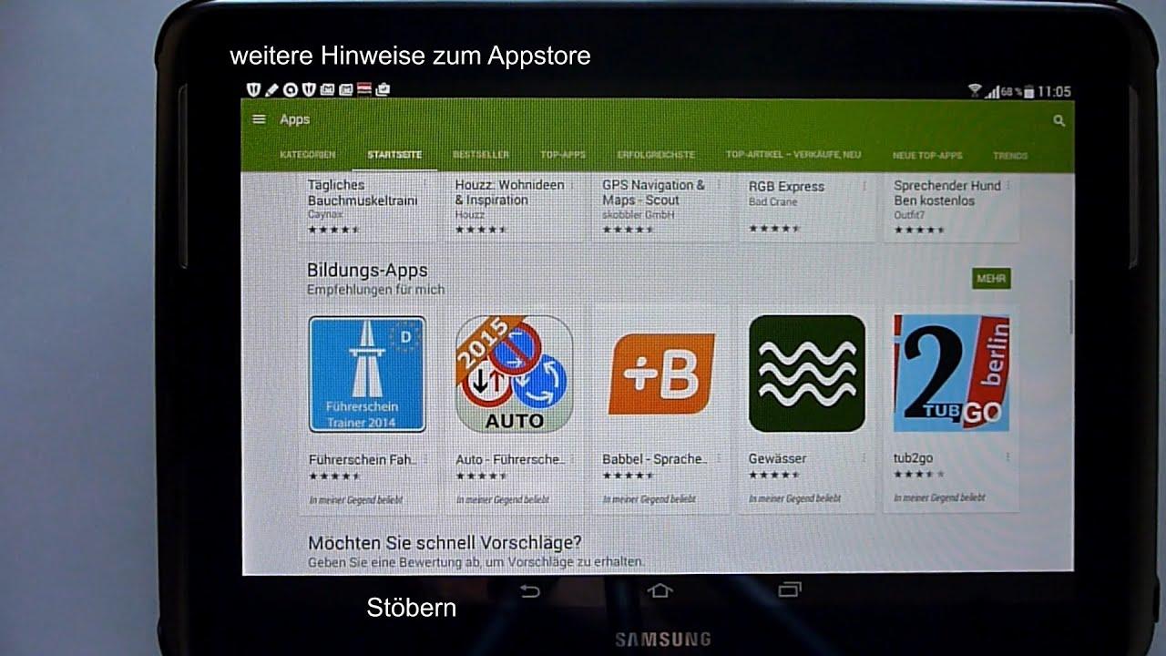 Google Play Installieren