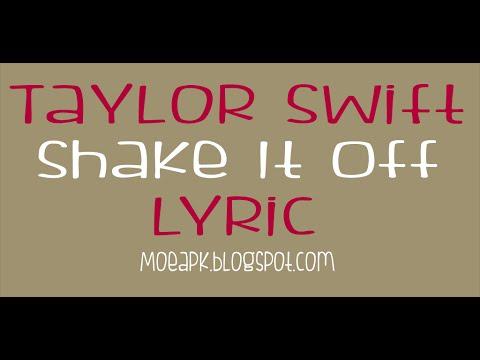 Shake It Off Taylor Swift Lyric Apps
