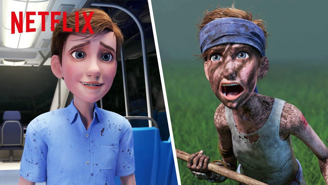 Best Jungle Ben Moments   Jurassic World Camp Cretaceous   Netflix Futures
