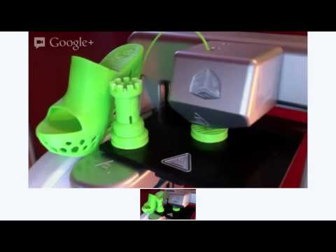 3D Printer - make your own toys at home - watch live