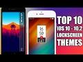 TOP 10 iOS 10 - 10.2 Jailbreak LockScreen Themes