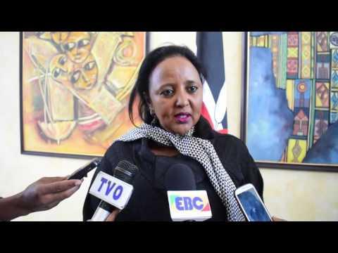 Kenya Foreign Affairs Cabinet Secretary on South Sudan/Somalia