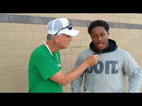 CD vs CD East pre-game — Interview with CD RB Mike Wise-Belle