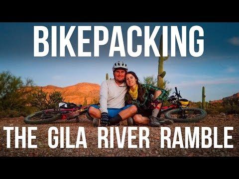 Bikepacking the Gila River Ramble -Dusty Betty Women's Mountain Biking