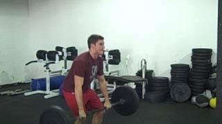 L Usine CrossFit 130lbs Clean Jerk