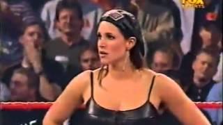 Chris Jericho Stephanie Shane McMahon Segment