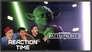 Star Wars Battlefront II: E3 2017 Official Gameplay Trailer - Reaction Time!