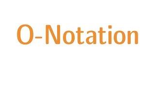 O-Notation (Landau-Symbolik)