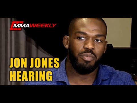 Jon Jones CSAC Commission Hearing Over Positive Steroid Drug Test