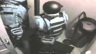 ЕКСКЛЮЗИВ! Штурм силовиками офиса партии ''Батьківщина'', видео с камер наблюдения(евромайдан