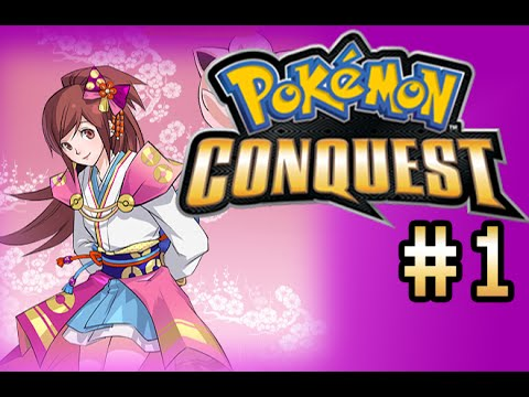Let's Play Pokemon Conquest #1: The Reboot!