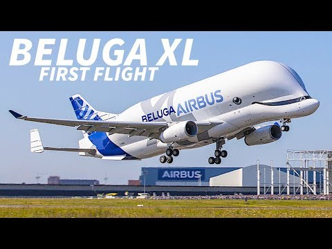 BELUGA XL Takes FLIGHT for the FIRST TIME